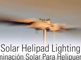 HELYLUX Solar Helipad Lighting